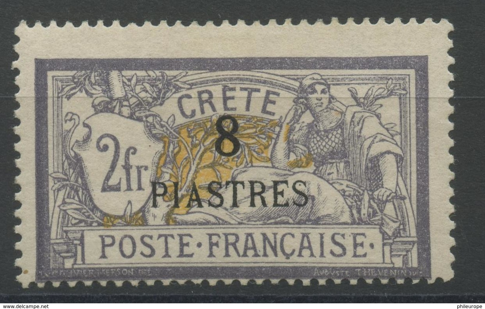 Crete (1903) N 19 (charniere) - Unused Stamps