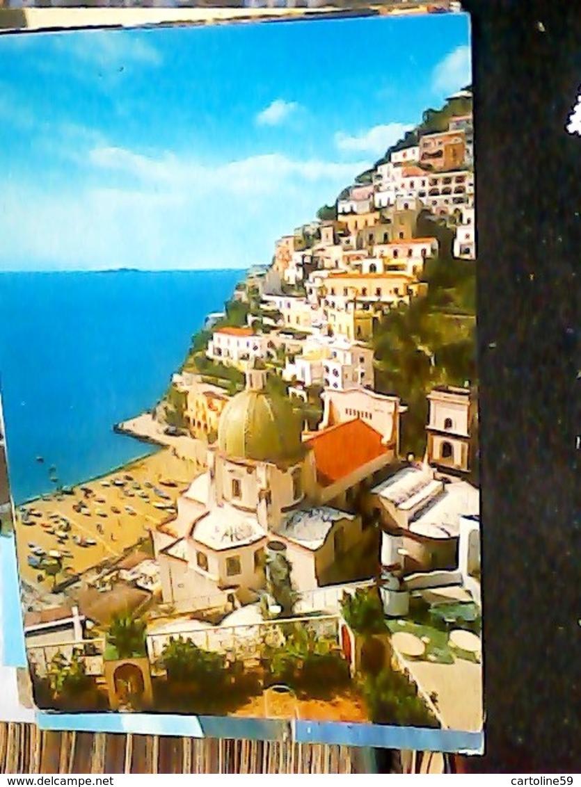4 CARD  POSITANO VARIE VEDUTE E CENTRO   VB1969\2000 HN7243 - Salerno
