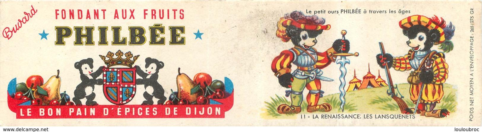 BUVARD PAIN D'EPICES DE DIJON PHILBEE - Gingerbread
