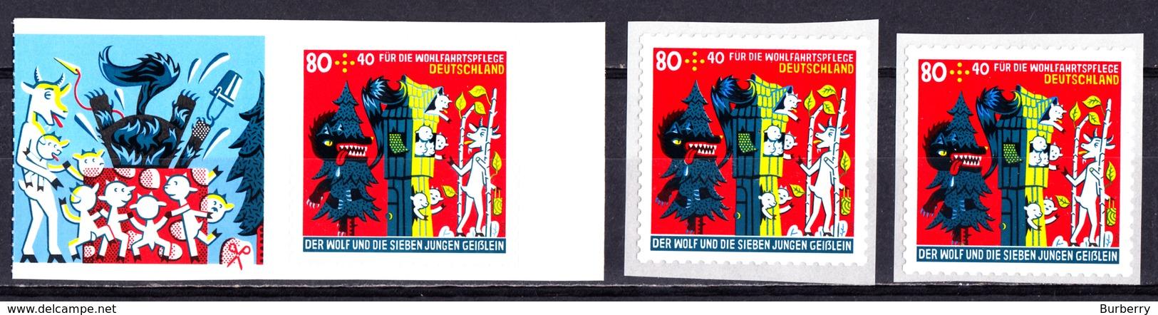 Bund - Neuheiten 2020  Mi. 3526 Selbstklebend Aus MH Und 2x Aus Rolle - Postfrisch - Neufs