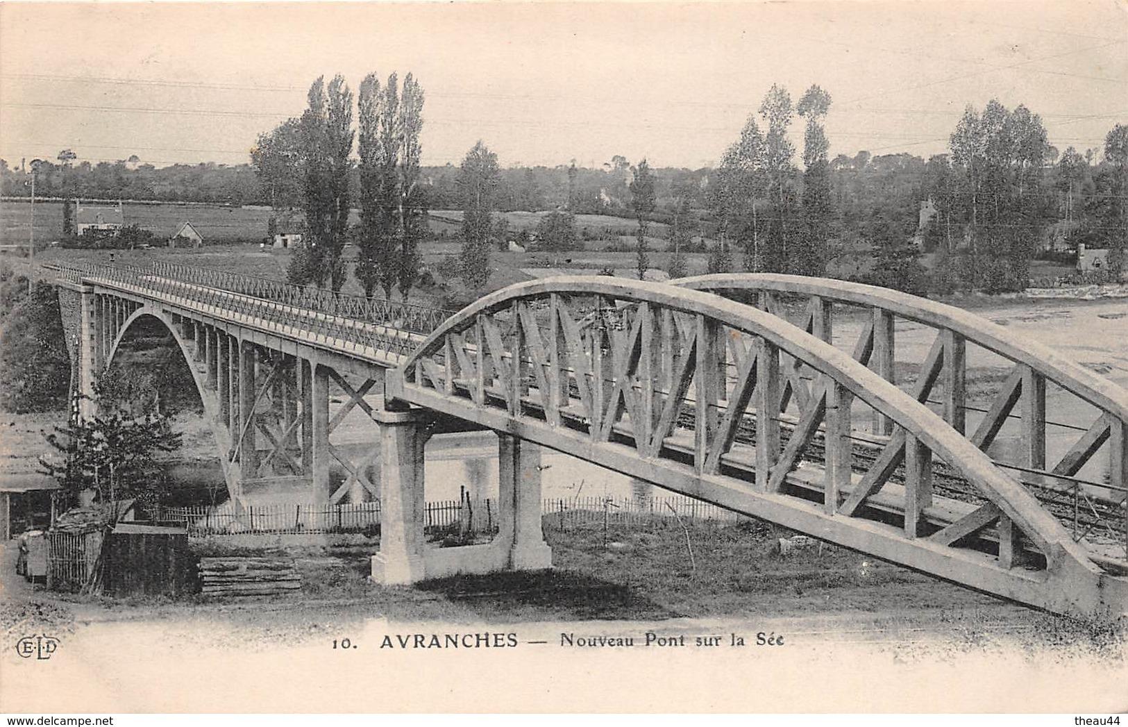 ¤¤  -  AVRANCHES   -   Nouveau Pont Sur La Sée    -  ¤¤ - Avranches