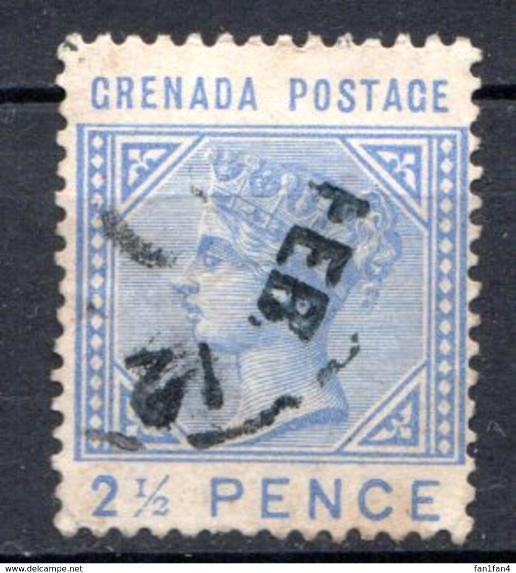 GRENADE - (Colonie Britannique) - 1883 - N° 15 - 2 1/2 P. Bleu Ciel - (Victoria) - Central America