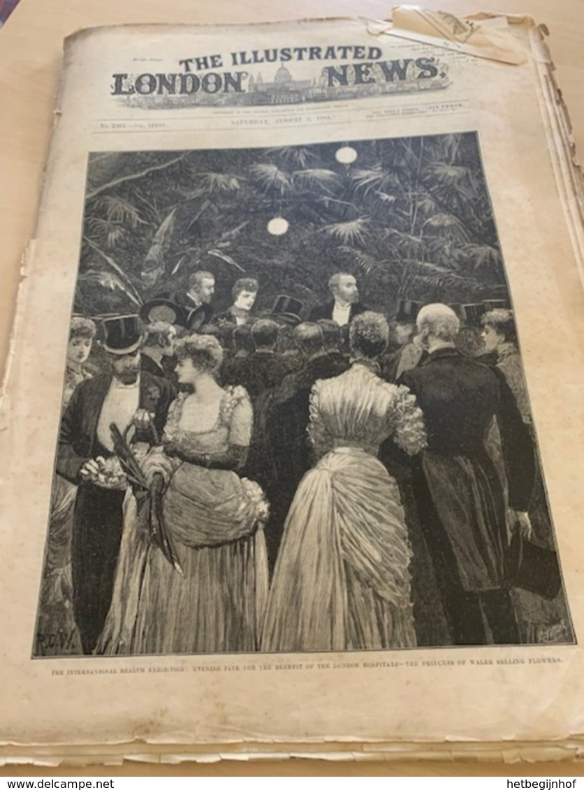 The Illustrated London News - 2 August 1884 - 1850-1899