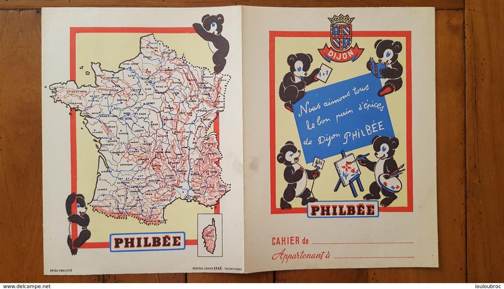 PROTEGE CAHIER PAIN D'EPICES DE DIJON PHILBEE - Gingerbread