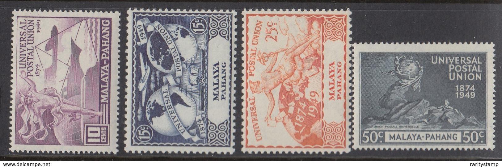 MALAYA PAHANG  1949  UPU   SET SG 49/52 MNH - Perlis
