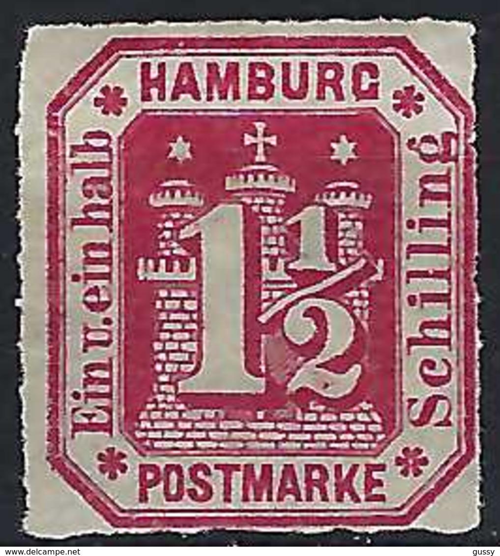 ALLEMAGNE Hambourg:  Le TP Y&T 23, Neuf (*)    B à TB - Hamburg