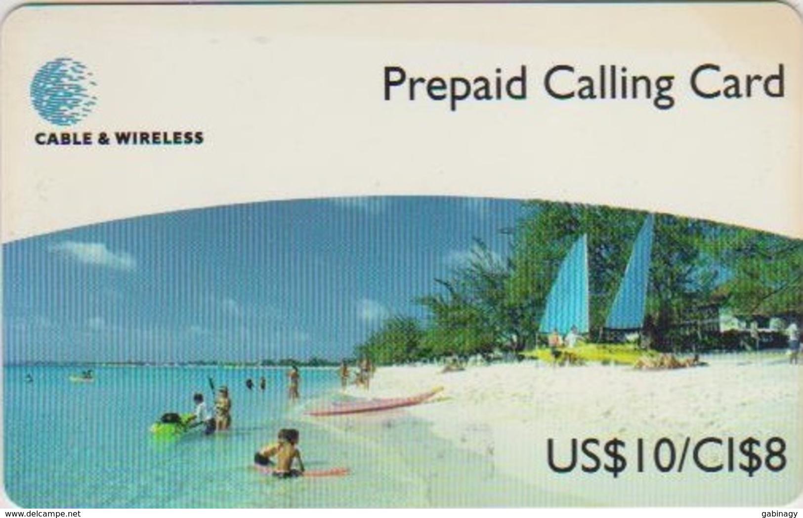 CAYMAN ISLANDS - BEACH - USD 10 - Iles Cayman