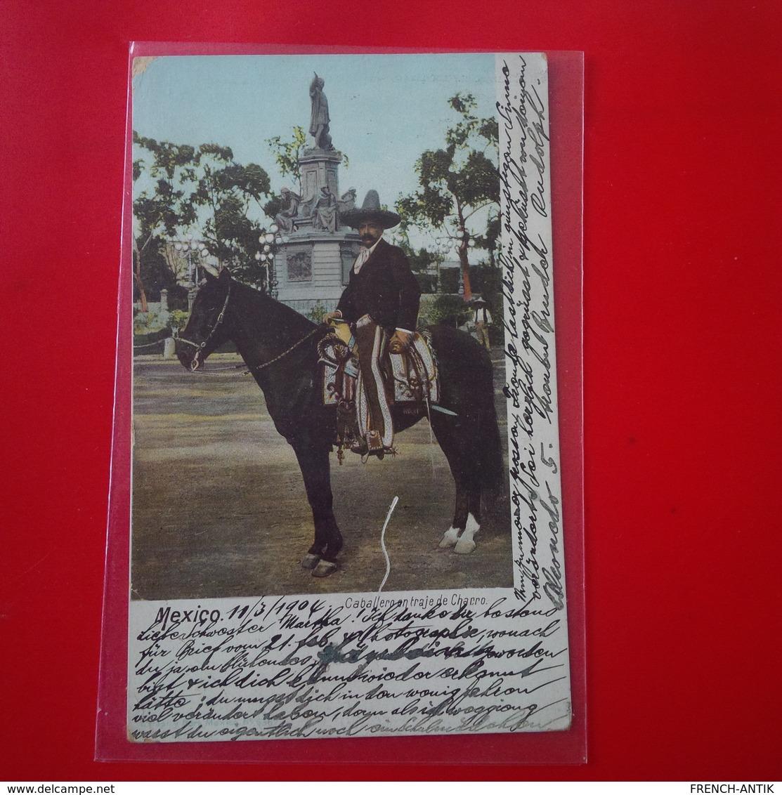 MEXICO CABALLERO EN TRAJE DE CHARRO - Mexico