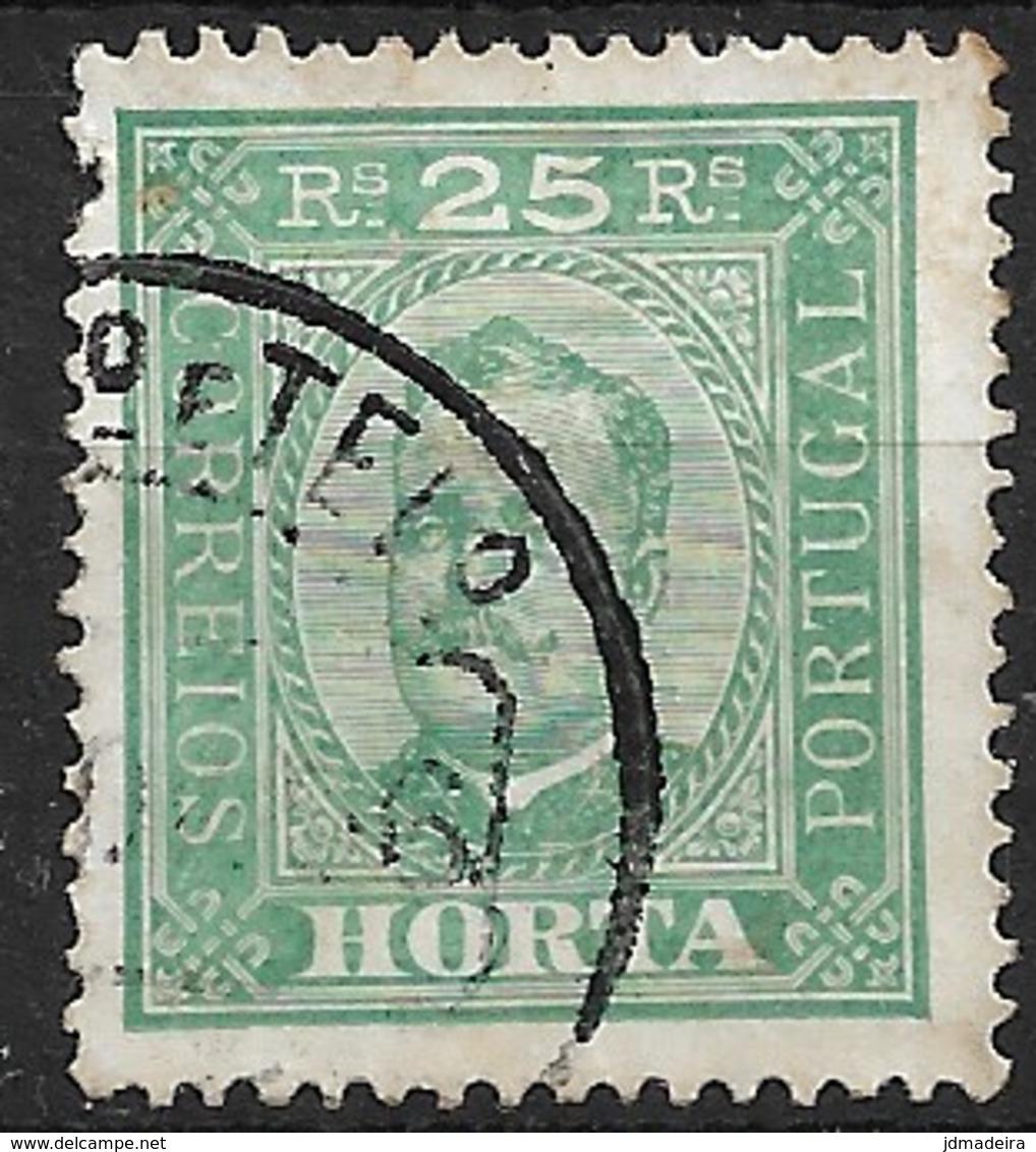 Horta – 1892 King Carlos 25 Réis - Horta