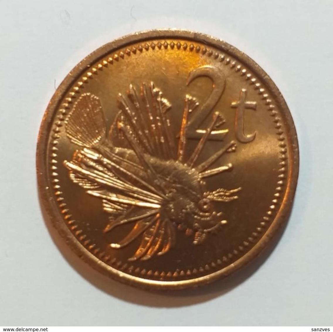 Papua Nuova Guinea  2 Toea 1990  KM 2 - Papua New Guinea