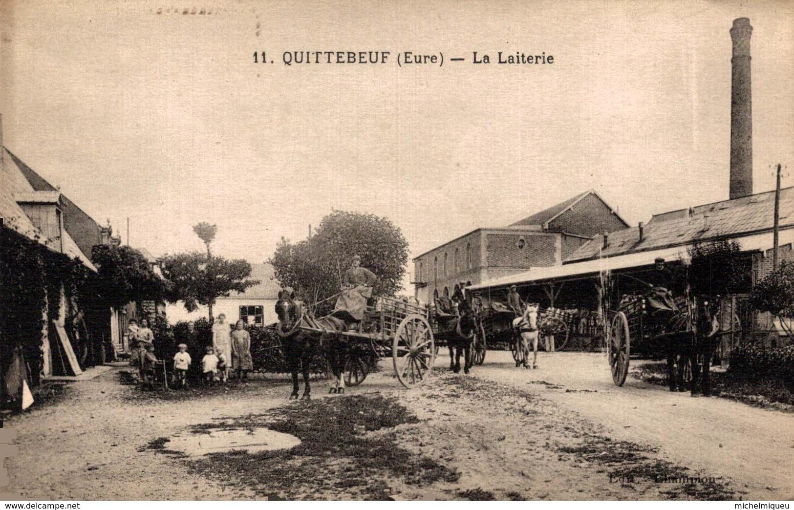 15008       QUITTEBEUF  LA  LAITERIE - Autres Communes