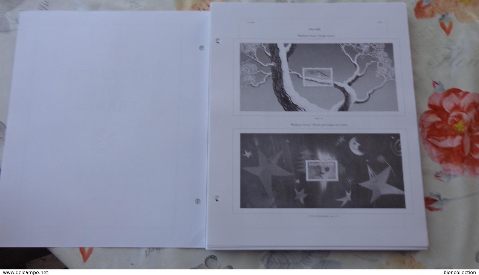 Yvert Et Tellier Feuilles Des Années 2004 à 2007 Neuves - Pré-Imprimés