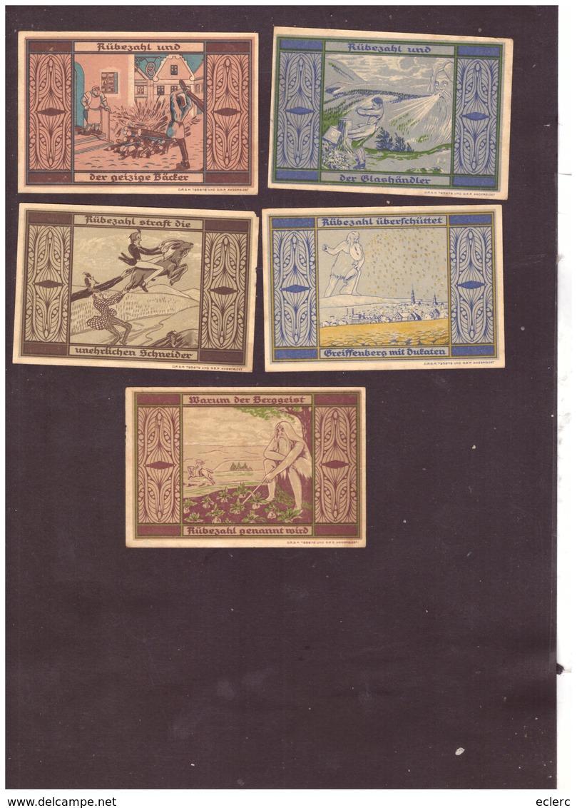 5 NOTGELD DER STADT GREIFFENBERG - TB - [11] Local Banknote Issues