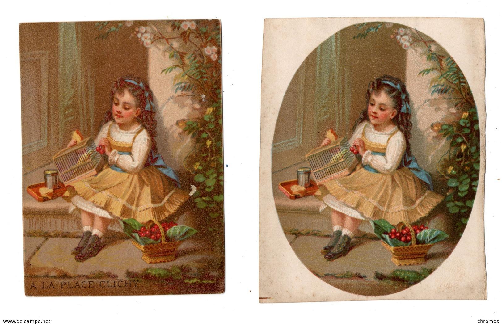 2 Chromos Testu & Massin, 13-49, Enfant Avec Cage De Oiseaux - Autres