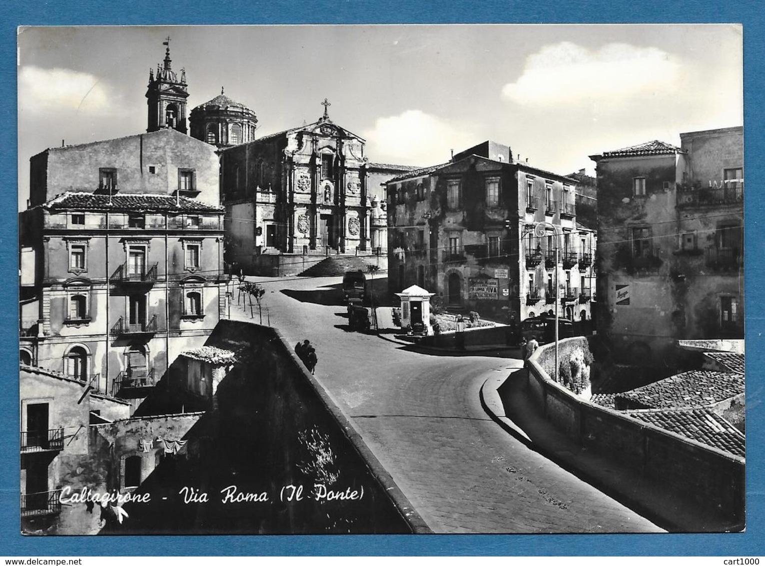 CALTAGIRONE CATANIA VIA ROMA VG. N° 116 - Catania