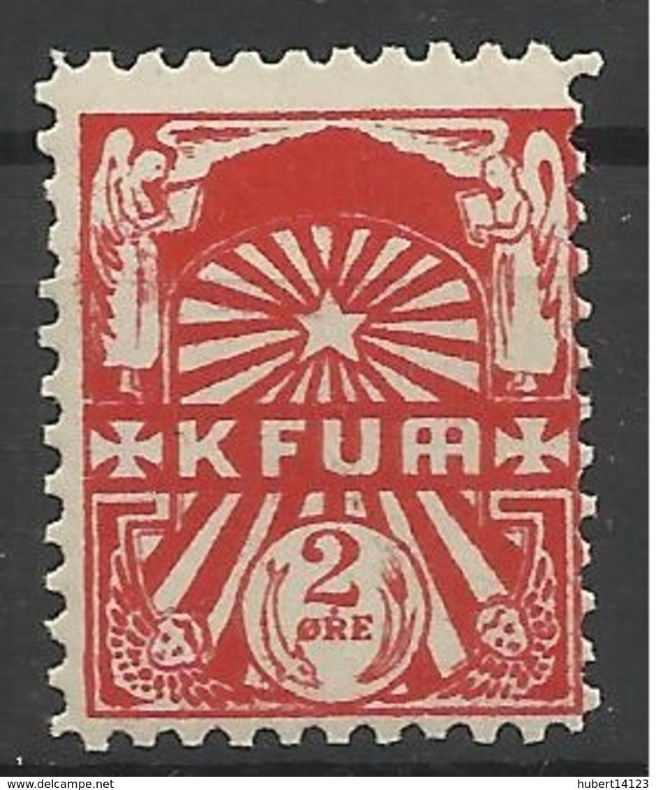 DANEMARK DENMARK KFUM BYPOST - Local Post Stamps