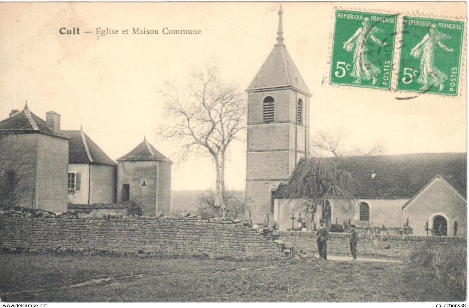 Cult - Eglise Et Maison Commune - Sonstige Gemeinden