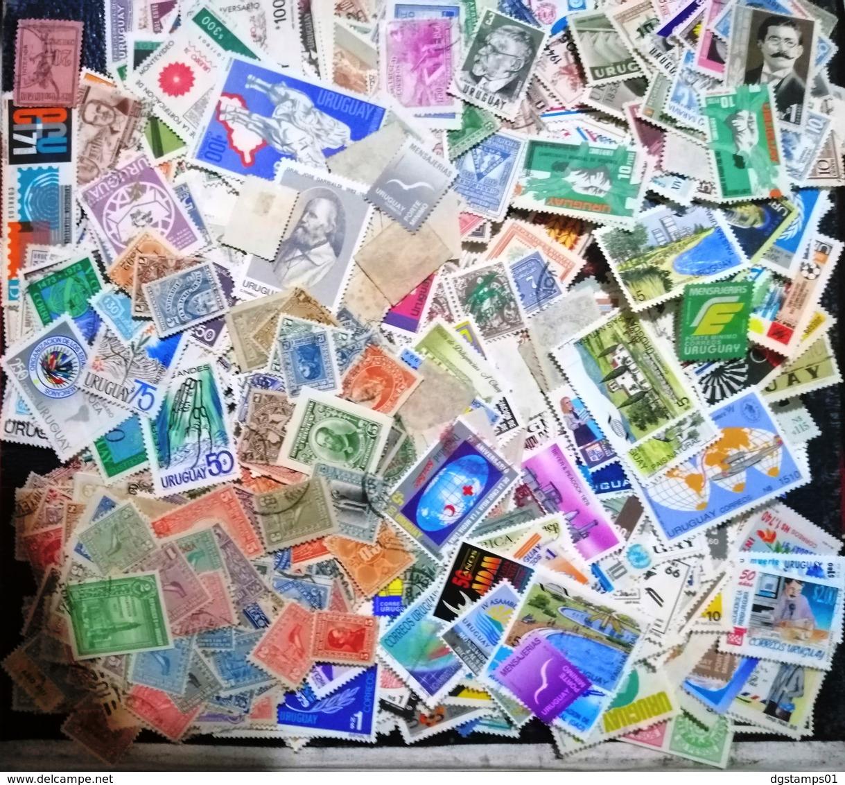 Uruguay Extraordinario Paquete De 2.000 Estampillas Diferentes. Seleccionadas. NO LO PIERDA. ESTÁ A MITAD DE PRECIO! - Stamps