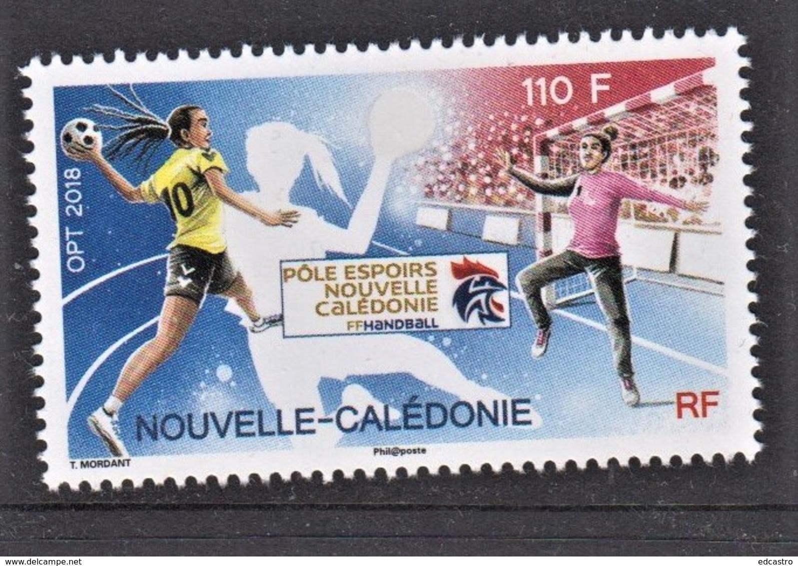 1.- NEW CALEDONIE 2019 Women's Handball Hopes Pole - Balonmano