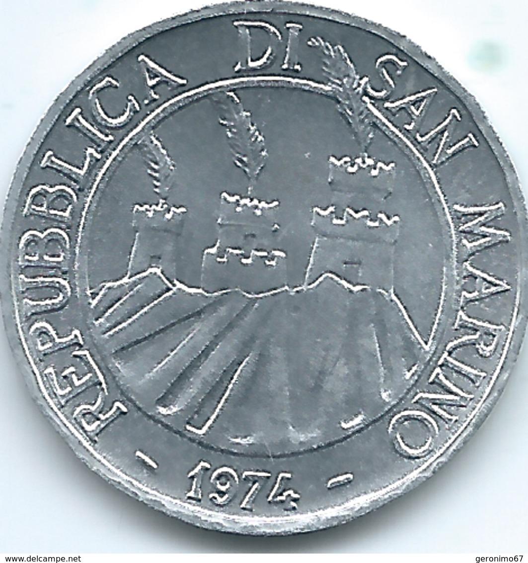 San Marino - 1974 - 5 Lire - KM32 - San Marino