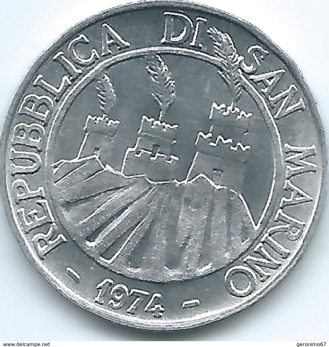 San Marino - 1974 - 10 Lire - KM33 - San Marino