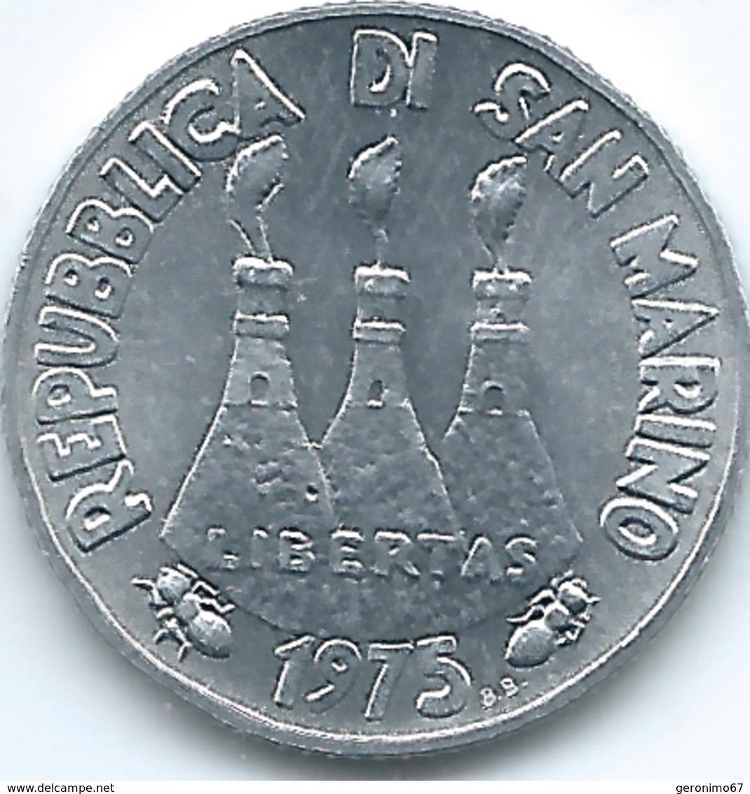San Marino - 1975 - 2 Lire - KM41 - San Marino