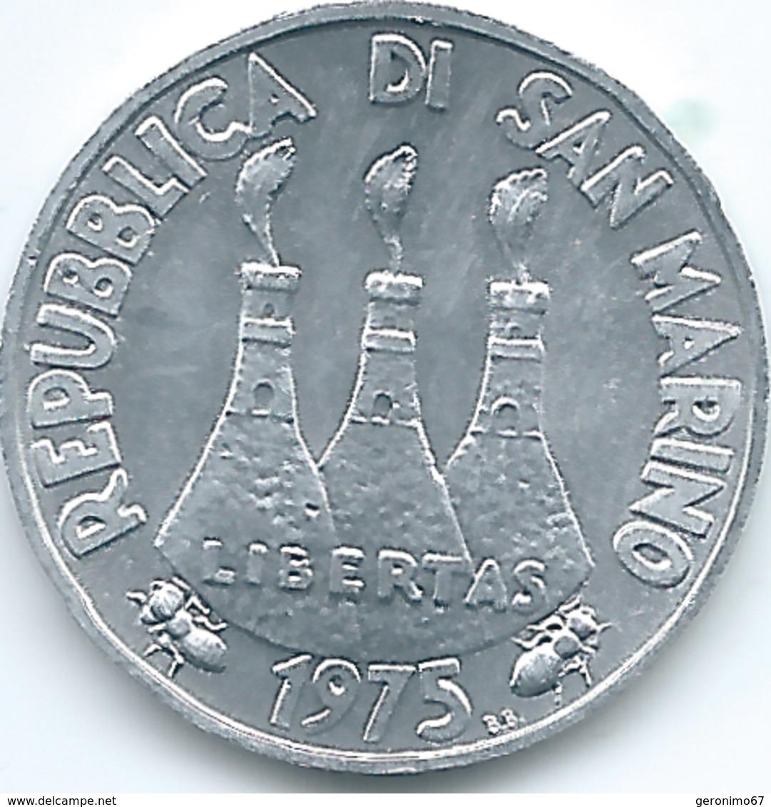 San Marino - 1975 - 5 Lire - KM42 - San Marino