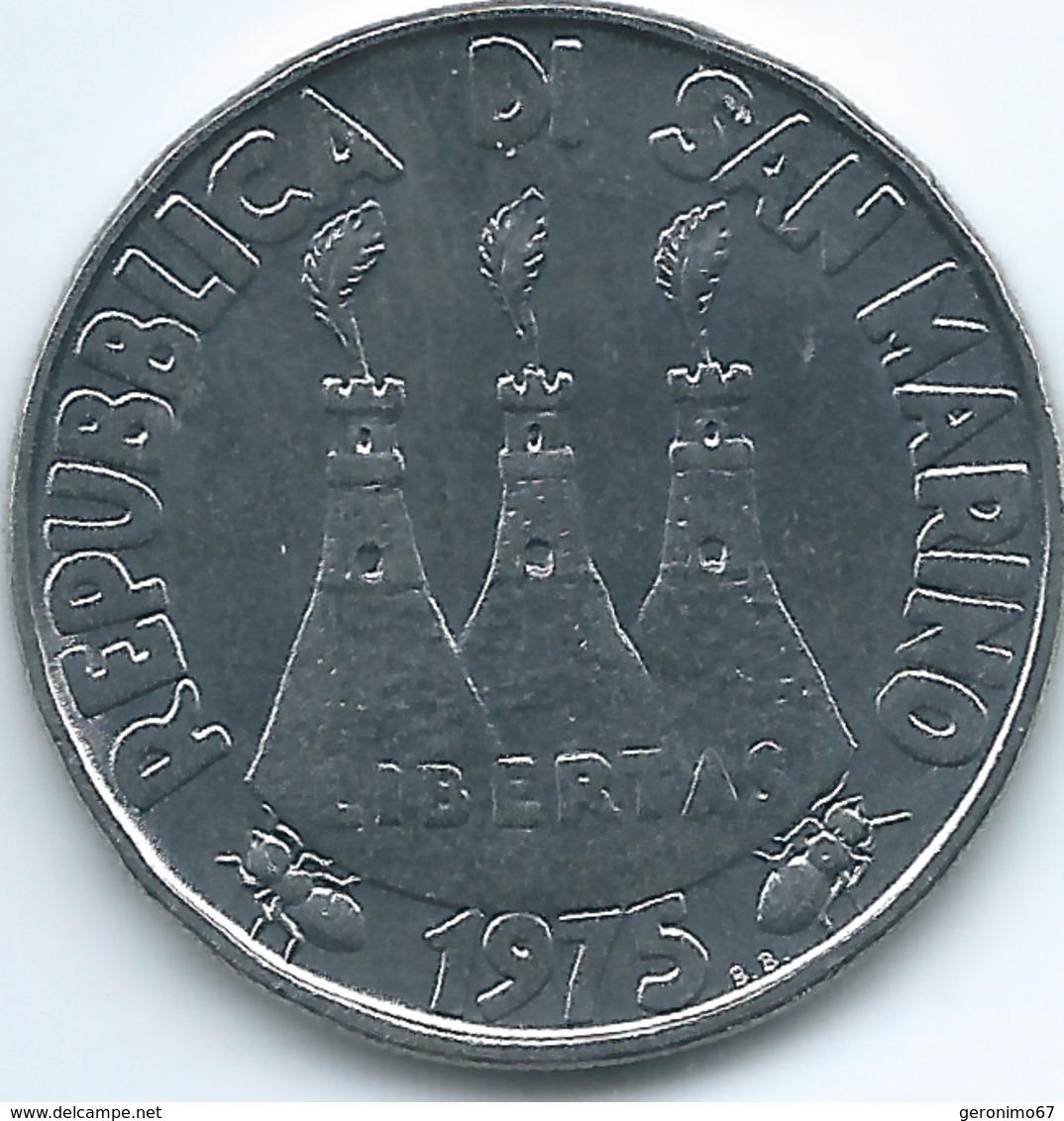 San Marino - 1975 - 100 Lire - KM46 - San Marino