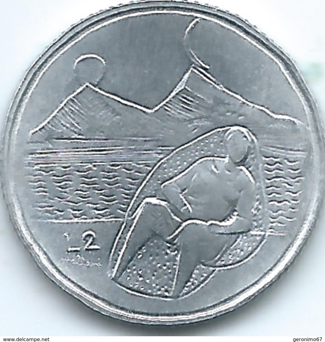 San Marino - 1976 - 2 Lire - KM52 - San Marino