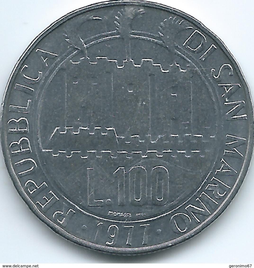 San Marino - 1977 - 100 Lire - KM69 - San Marino