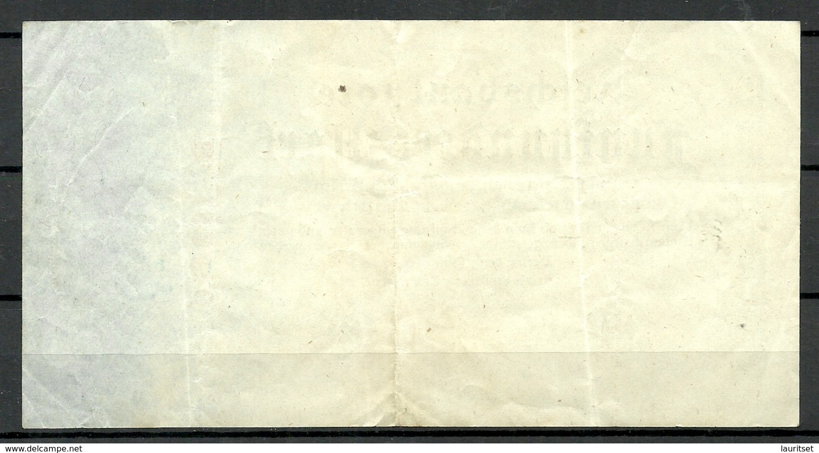 Germany Deutschland 1922 = 500 Mark Bank Note Serie B - 500 Mark