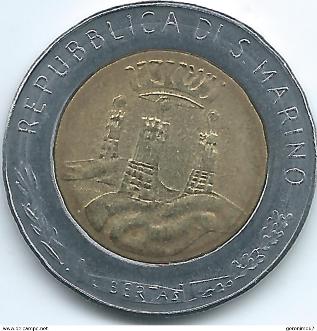 San Marino - 1982 - 500 Lire - KM140 - San Marino
