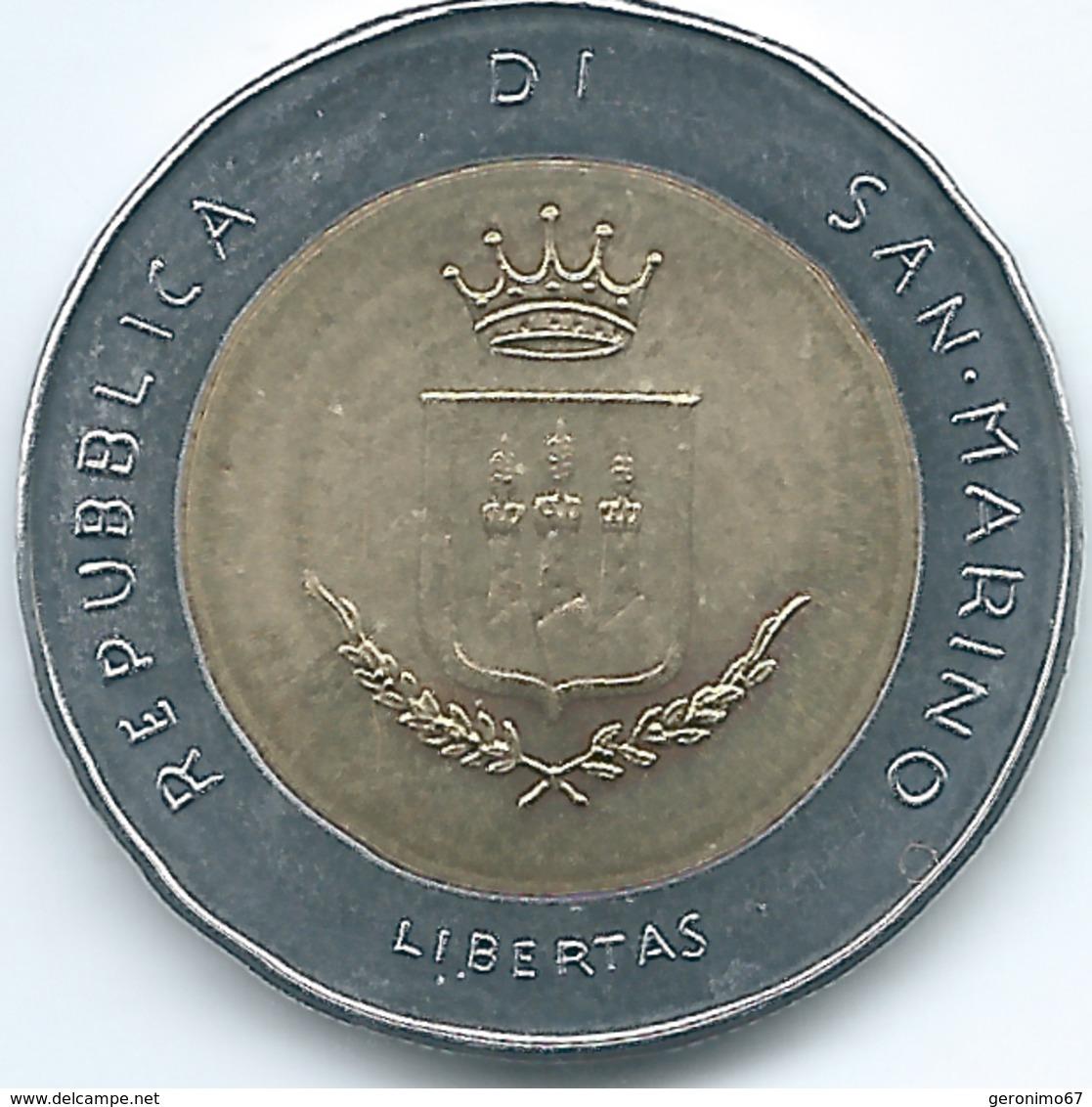 San Marino - 1983 - 500 Lire - KM153 - San Marino