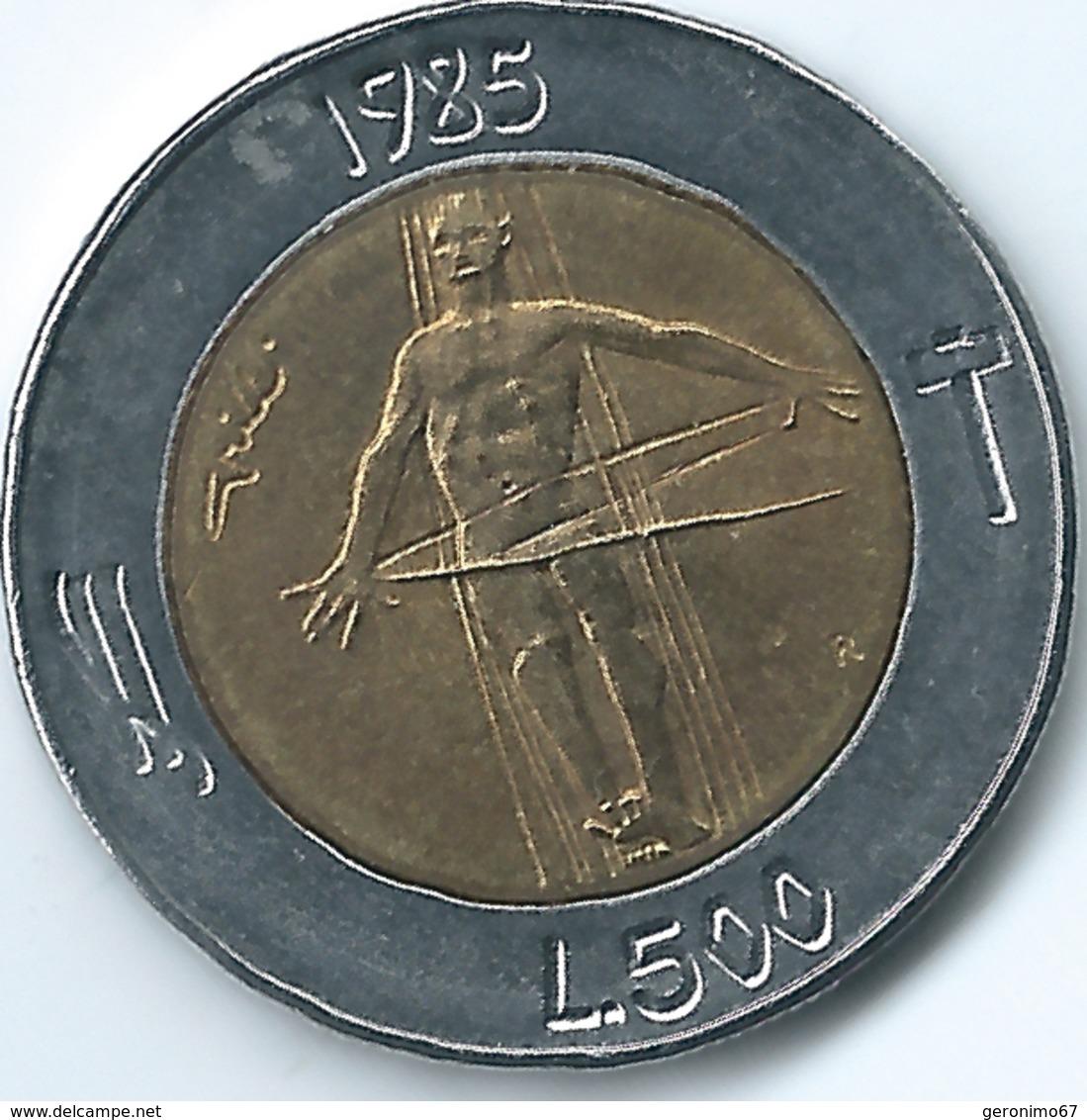 San Marino - 1985 - 500 Lira - KM181 - San Marino