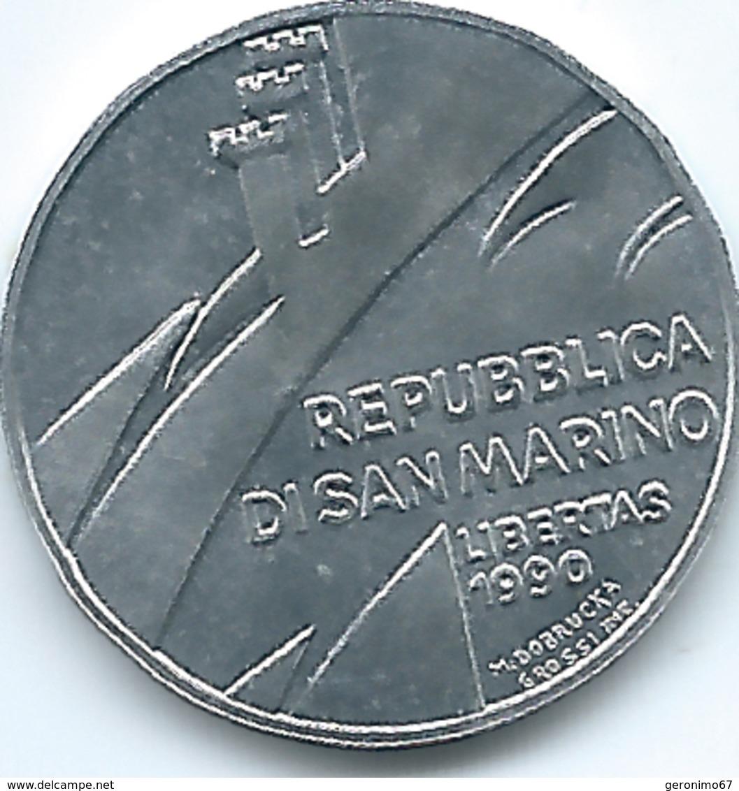 San Marino - 1990 - 1 Lira - KM248 - San Marino