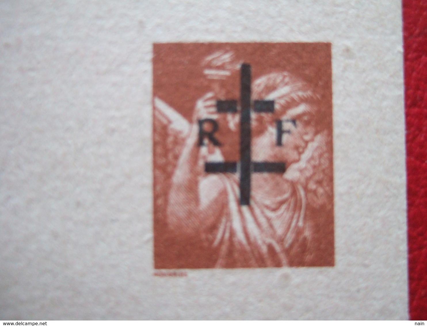 "LIBERATION - ""  DE LA  LA CHARITE SUR LOIRE "" - ENTIER IRIS - "" TRES, TRES RARE "" - - Liberation"
