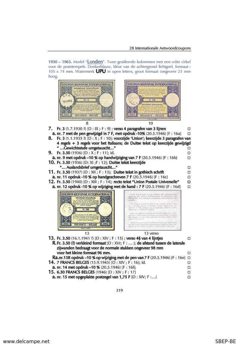"""Katalogus 2020:  """"De Postwaardestukken Van Belgie"""" - Sin Clasificación"""