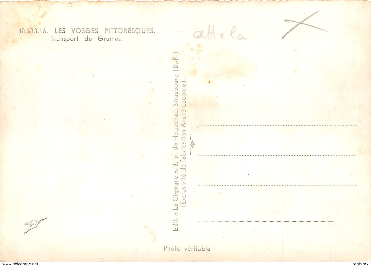 88-TRANSPORT DE GRUMES DANS LES VOSGES-N°325-D/0399 - Other Municipalities