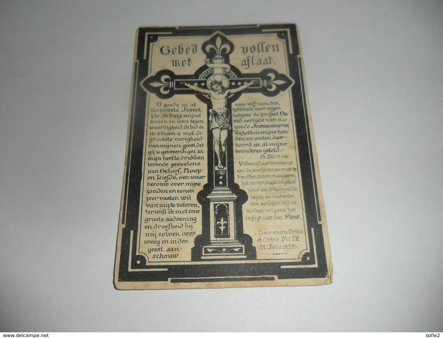 Doodsprentje St-elooi-winkel Zuster Marie Justine - Religión & Esoterismo