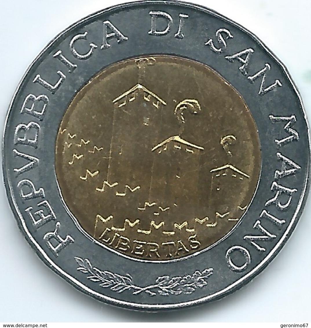 San Marino - 1993 - 500 Lire - KM301 - San Marino