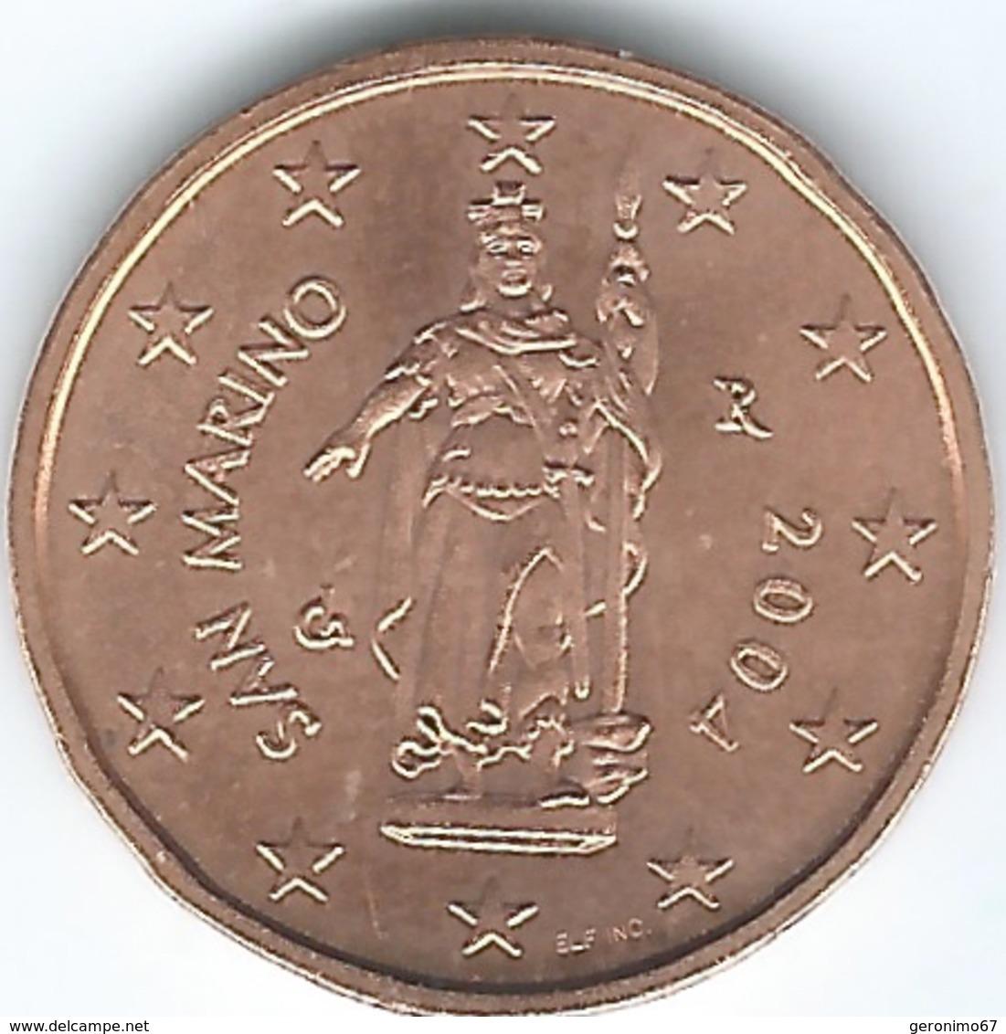 San Marino - 2 Euro Cent - 2004 - KM441 - San Marino