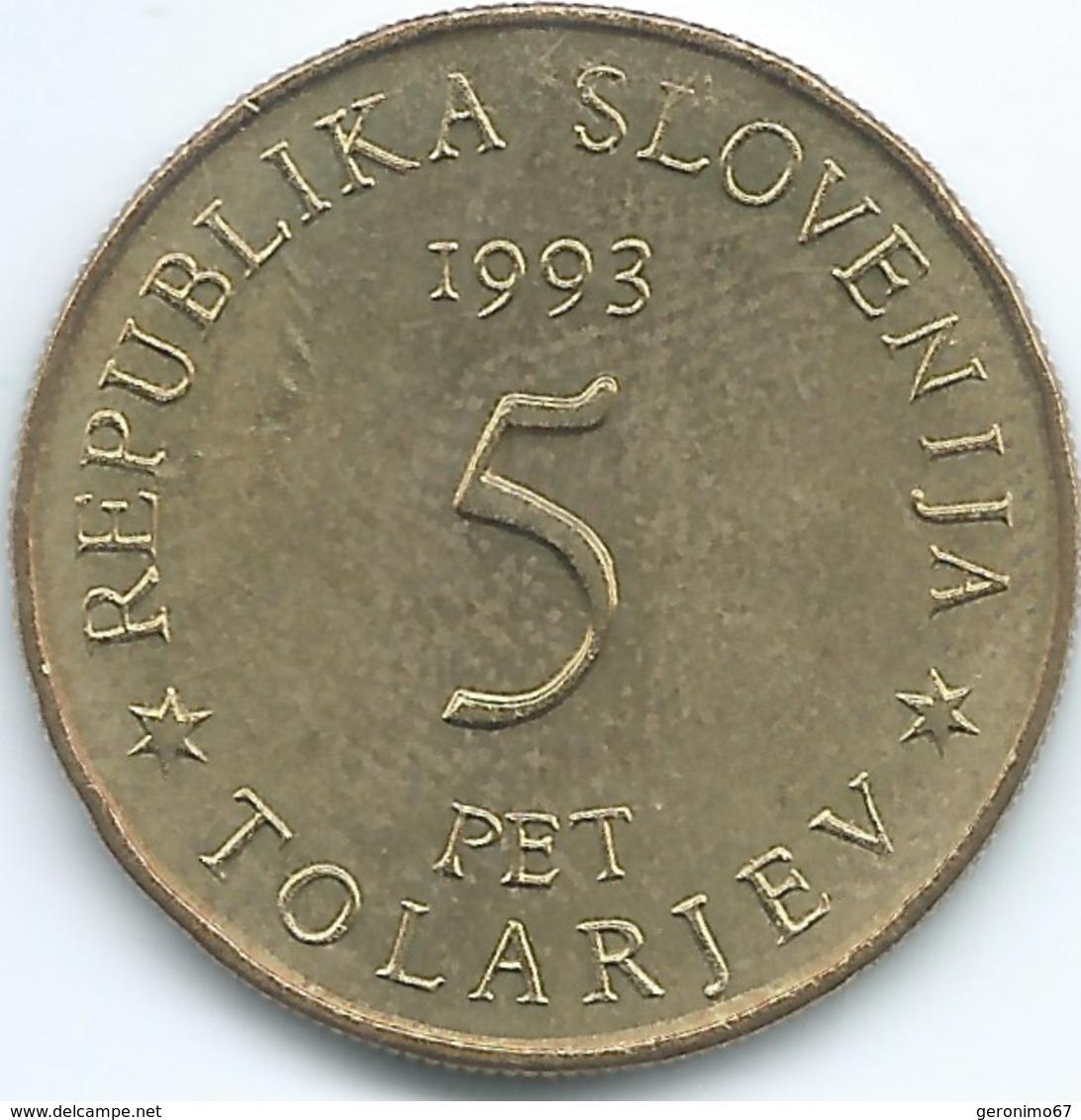 Slovenia - 1993 - 5 Tolarjev - Battle Of Sisek - KM9 - Slovenia