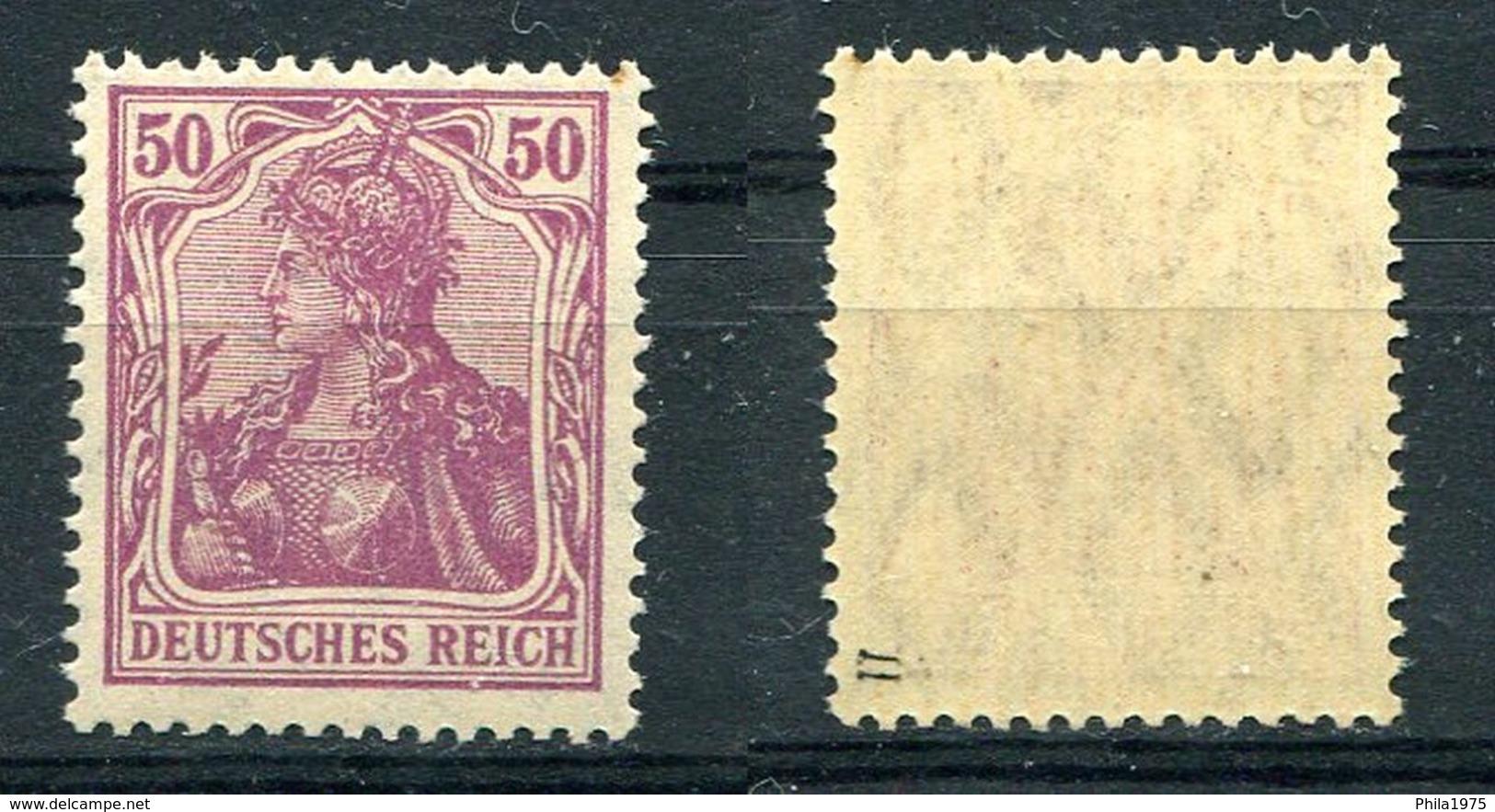 Deutsches Reich Michel-Nr. 146II Postfrisch - Geprüft - Nuovi