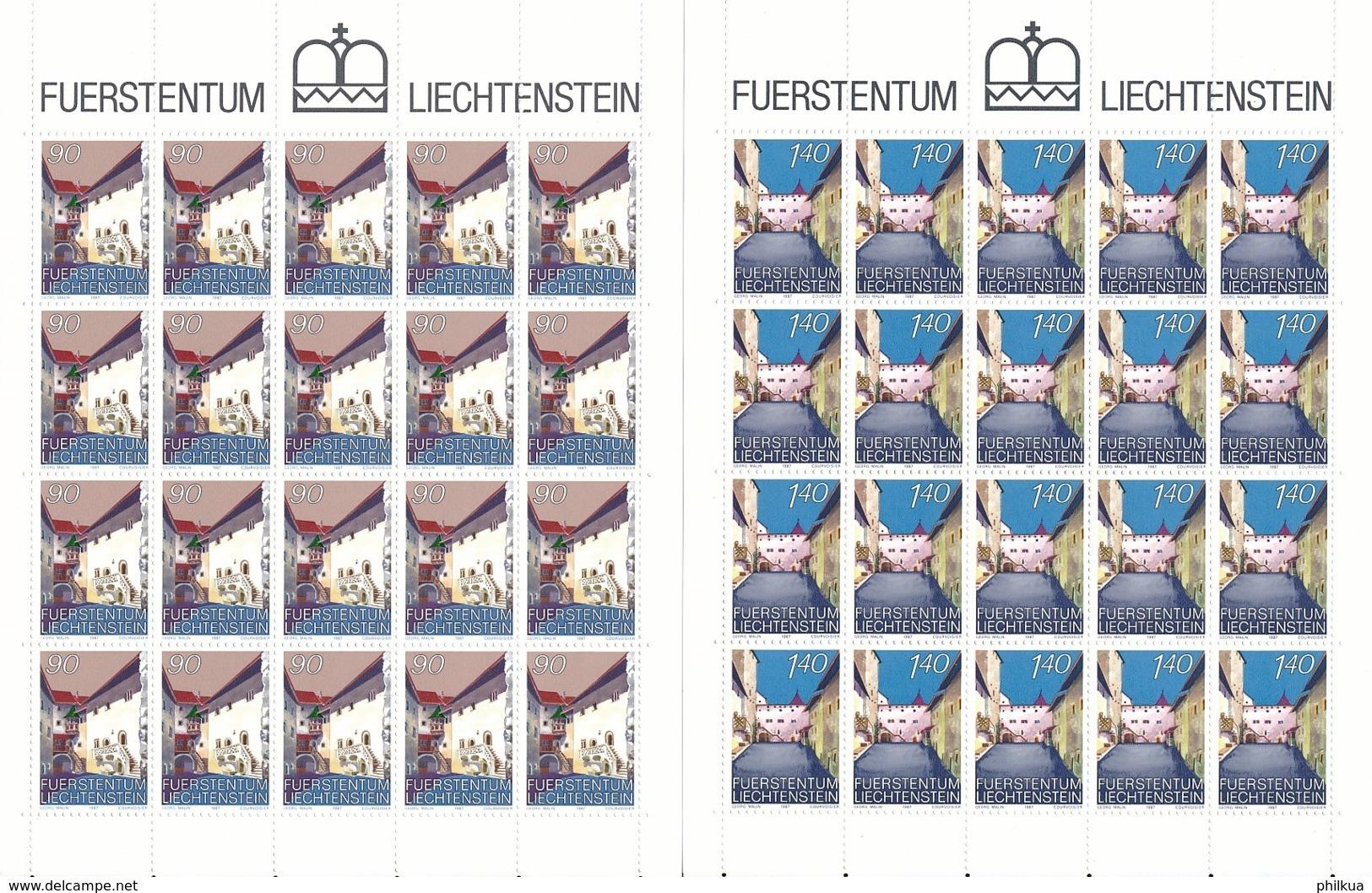 Zumstein 859-860 / Michel 919-920 Bogen-Serie Einwandfrei Postfrisch/** - Blocks & Sheetlets & Panes
