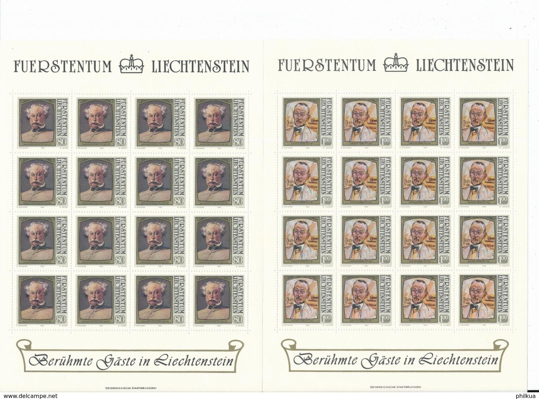 Zumstein 723-726 / Michel 784-787 Bogen-Serie Einwandfrei Postfrisch/** - Blocks & Sheetlets & Panes
