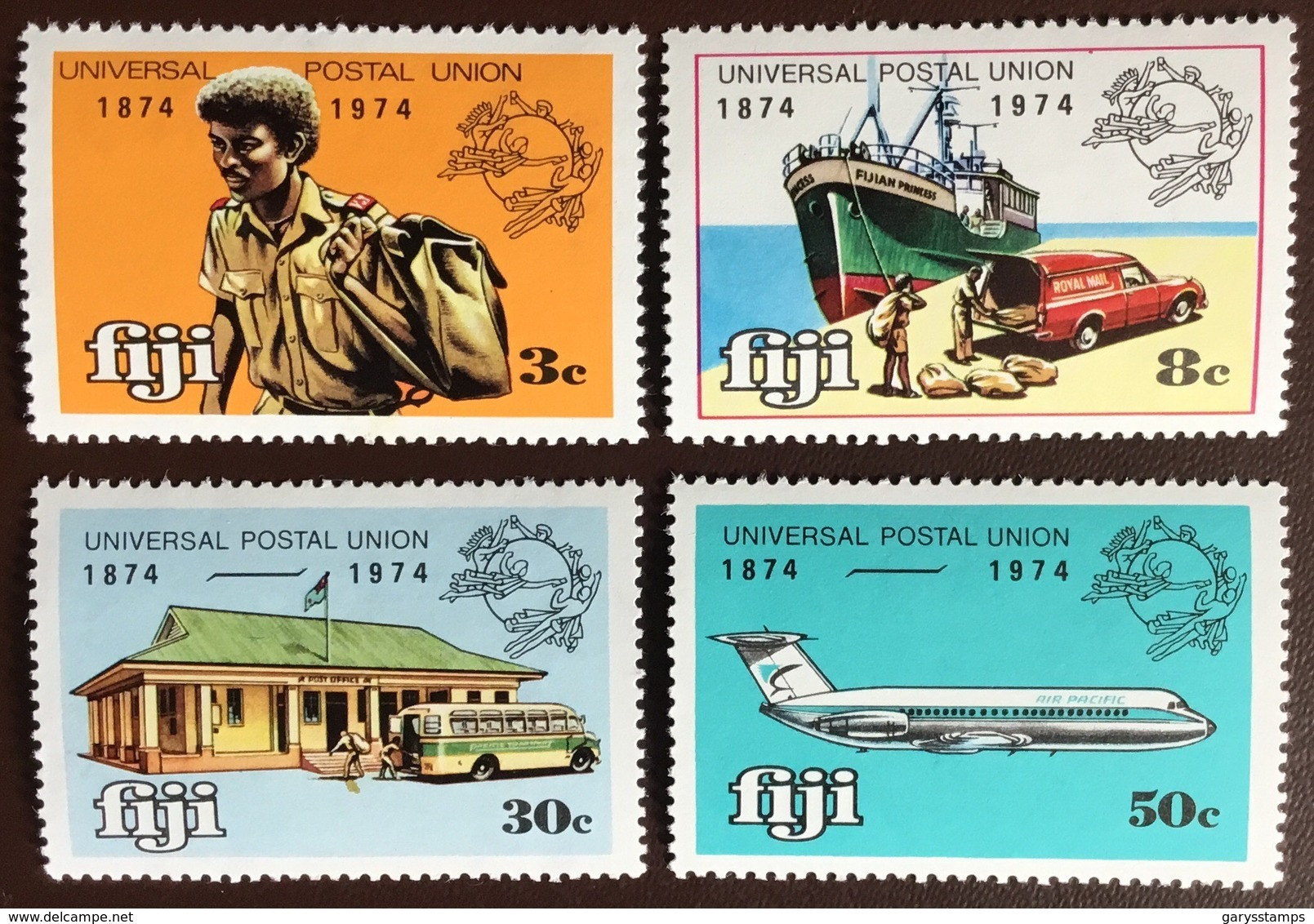 Fiji 1974 UPU Aircraft Aviation Transport MNH - Fiji (1970-...)