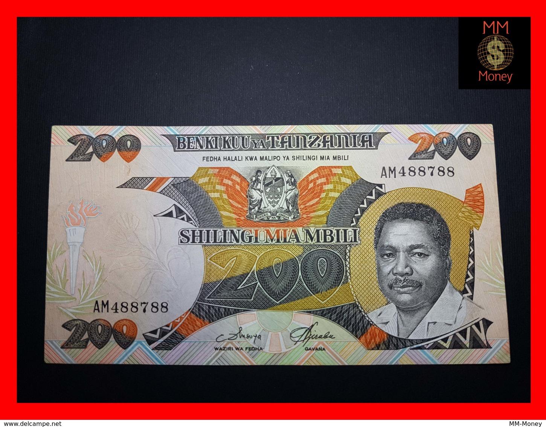 TANZANIA 200 Shilingi 1986 P. 18 A  VF - Tansania