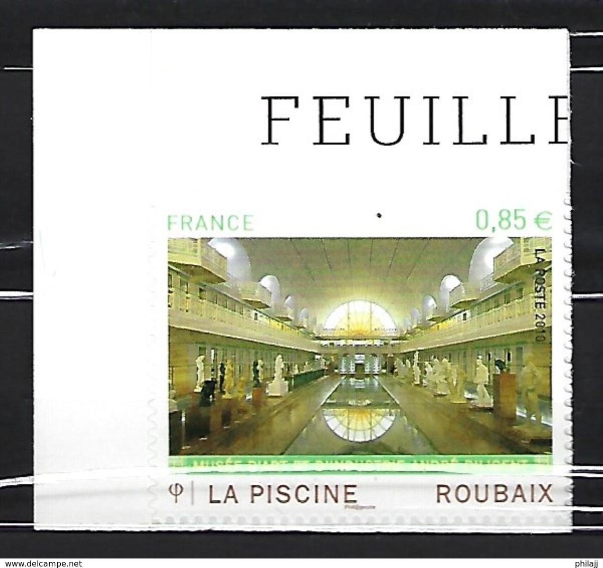 "France -Autoadhésif N° 467-Art ""La Piscine""- Neuf ** - Luchtpost"