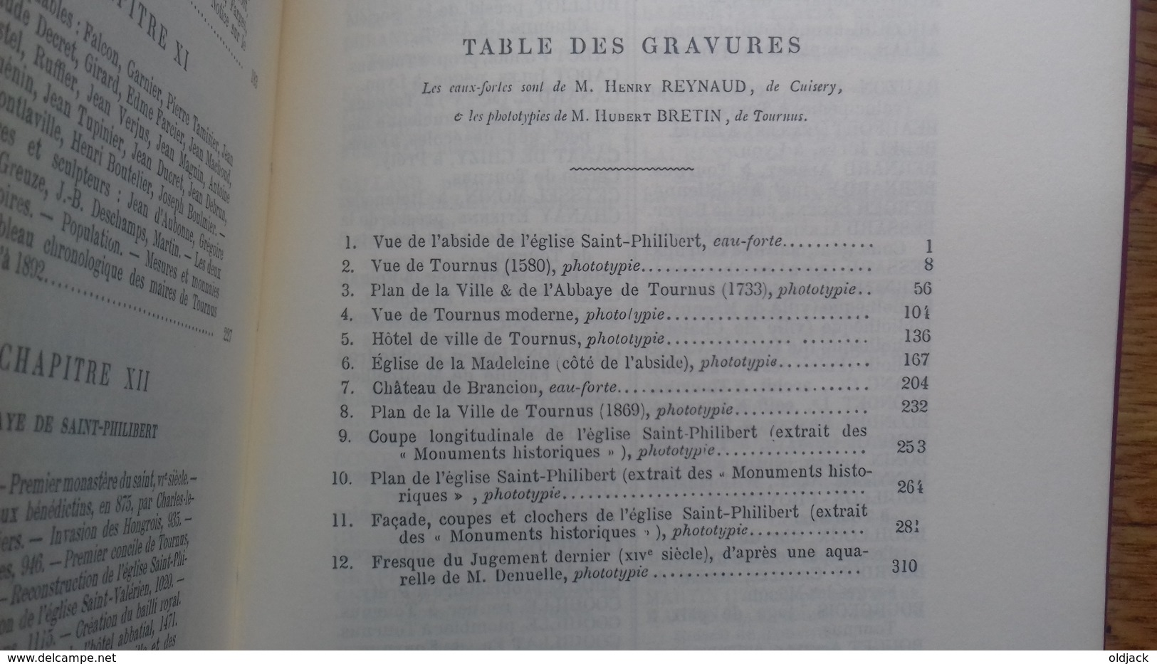 """MEULIEN E.""""Histoire De La Ville Et Du Canton De TOURNUS """"(71S&L)1995(col12d) Réédition De L'ouvrage De 1892. - Bourgogne"""