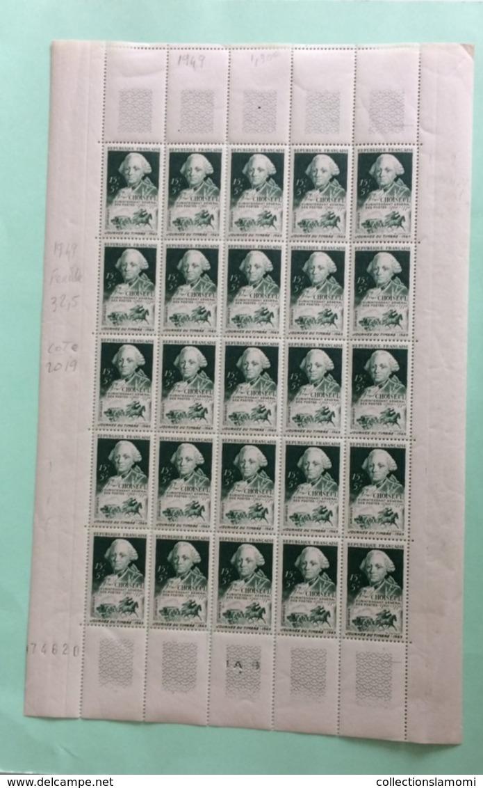 Étienne François Duc De Choiseul -1949 Neuf (Y&T N°828) - Coté 32,50€ (Feuille 25 Val) - France